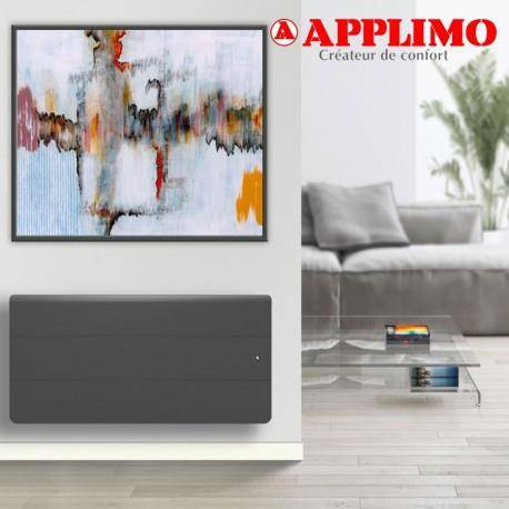 APPLIMO Radiateur Fonte LENA Smart EcoControl 1000W Bas Gris - APPLIMO 0012183SEHS