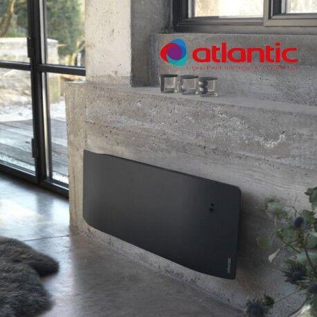 ATLANTIC Radiateur électrique Atlantic DIVALI Plinthe 1000W Pilotage Intelligent Connecté Lumineux GRIS - 507632
