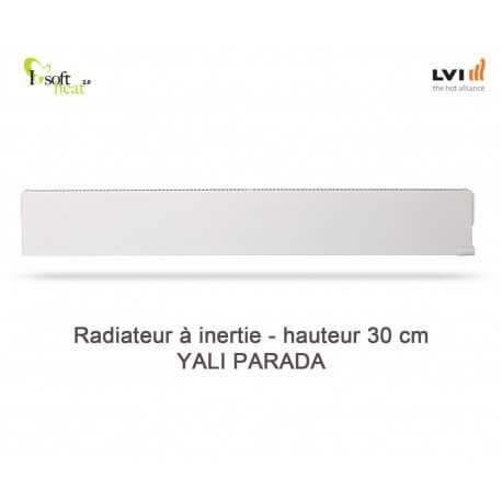 LVI Radiateur électrique LVI - YALI Parada Plinthe 1000W - inertie fluide (haut.300) 3703102