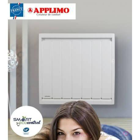 APPLIMO Radiateur electrique Fonte APPLIMO - SOLEIDOU Smart ECOcontrol 2000W Horizontal 0013757SE