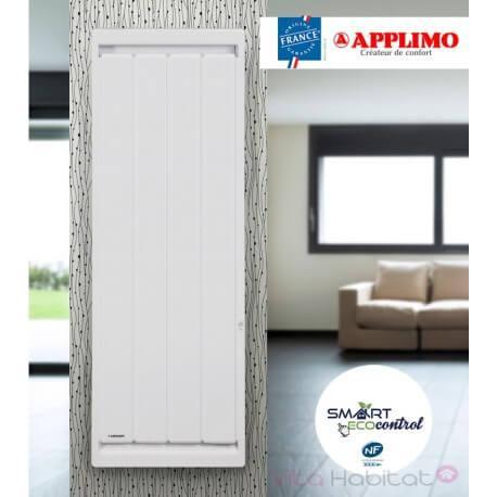 APPLIMO Radiateur electrique Fonte APPLIMO - SOLEIDOU Smart ECOcontrol 1000W Vertical 0013763SE