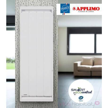 APPLIMO Radiateur electrique Fonte APPLIMO - SOLEIDOU Smart ECOcontrol 2000W Vertical 0013767SE