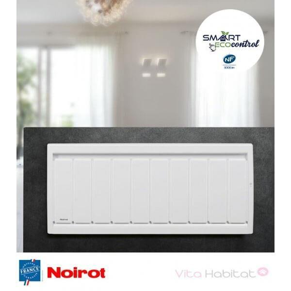 NOIROT Radiateur electrique Fonte NOIROT - CALIDOU Smart ECOcontrol 750W Bas N3032SEEZ