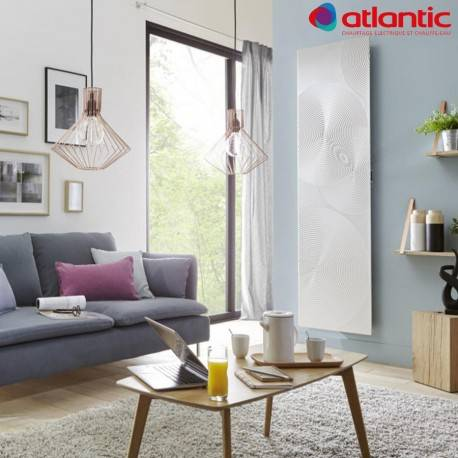 ATLANTIC Radiateur Atlantic IRISIUM SERENITY 1500W Vertical Connecté et Intelligent - 604214