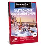 Wonderbox Coffret cadeau Gastronomie des grands Chefs - Wonderbox