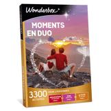 Wonderbox Coffret cadeau Moments en duo - Wonderbox