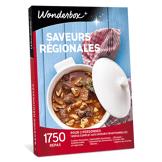Wonderbox Coffret cadeau Saveurs régionales - Wonderbox