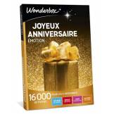 Wonderbox Coffret cadeau Joyeux anniversaire Émotion - Wonderbox
