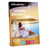 Wonderbox Coffret cadeau Loisirs en duo - Wonderbox