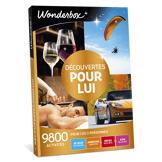 Wonderbox Coffret cadeau Découvertes pour lui - Wonderbox