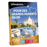 Wonderbox Coffret cadeau Pour des grands-parents en or - Wonderbox