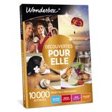 Wonderbox Coffret cadeau Découvertes pour elle - Wonderbox