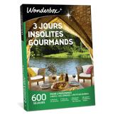 Wonderbox Coffret cadeau 3 jours insolites gourmands - Wonderbox