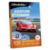 Wonderbox Coffret cadeau Aventure et évasion - Wonderbox