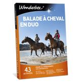 Wonderbox Coffret cadeau Balade à cheval en duo - Wonderbox