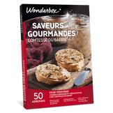 Wonderbox Coffret cadeau Saveurs gourmandes Comtesse du Barry - Wonderbox