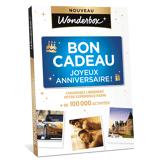 Wonderbox Coffret cadeau Bon Cadeau Joyeux Anniversaire ! - Wonderbox