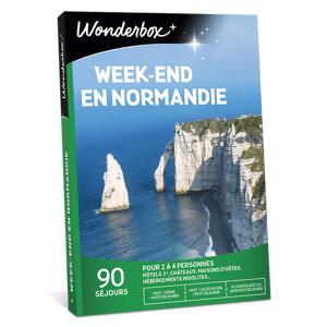 Wonderbox Coffret cadeau Week-end en Normandie - Wonderbox - Publicité