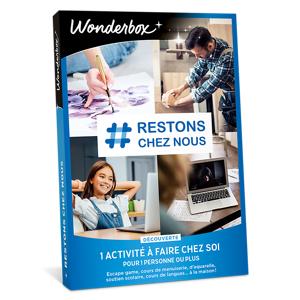 Wonderbox Coffret cadeau # Restons chez nous - découverte - Wonderbox