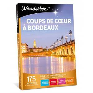 Wonderbox Coffret cadeau Coups de cur à Bordeaux - Wonderbox