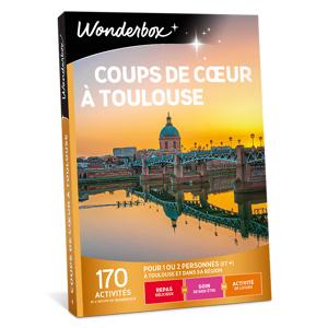 Wonderbox Coffret cadeau Coups de cur à Toulouse - Wonderbox