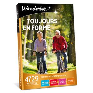 Wonderbox Coffret cadeau Toujours en forme - Wonderbox