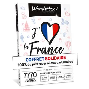 Wonderbox Coffret cadeau J'aime la France Émotion - Wonderbox - Publicité