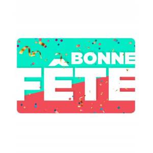 Wonderbox Coffret cadeau Carte BONNE FÊTE - Wonderbox - Publicité