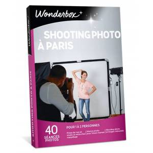 Wonderbox Coffret cadeau Shooting Photo à Paris - Wonderbox