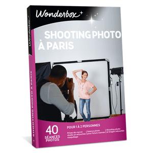 Wonderbox Coffret cadeau Shooting Photo à Paris - Wonderbox