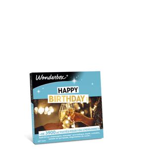 Wonderbox Coffret cadeau Happy Birthday Gold - Wonderbox