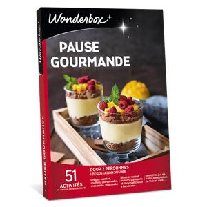 Wonderbox Coffret cadeau Pause Gourmande - Wonderbox