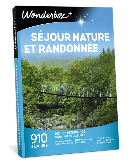Wonderbox Coffret cadeau Séjour nature et randonnée - Wonderbox