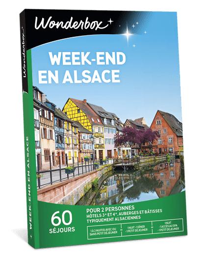 Wonderbox Coffret cadeau Week-end en Alsace - Wonderbox