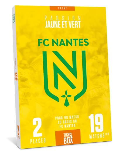 Wonderbox Coffret cadeau FC Nantes - Wonderbox