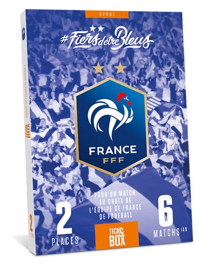 Wonderbox Coffret cadeau Equipe de France de Football - Wonderbox