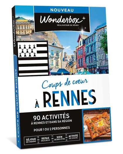 Wonderbox Coffret cadeau Coups de cur à Rennes - Wonderbox