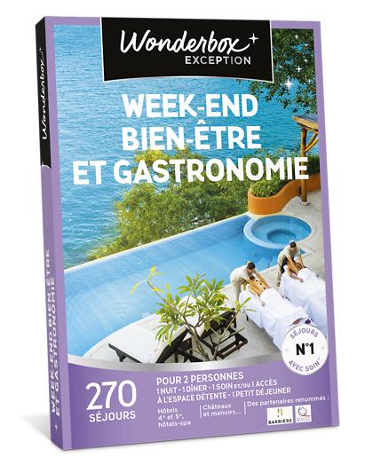 Wonderbox Coffret cadeau Week-end bien-être et gastronomie - Wonderbox