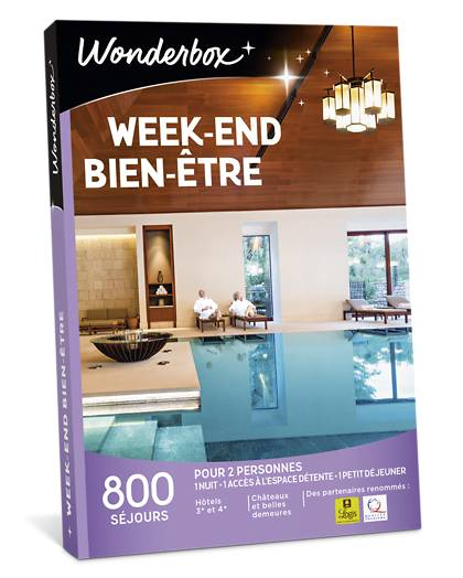 Wonderbox Coffret cadeau Week-end bien-être - Wonderbox