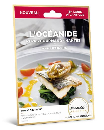 Wonderbox Coffret cadeau L'Océanide repas gourmand - Nantes - Wonderbox