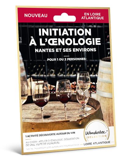 Wonderbox Coffret cadeau Initiation à lnologie Nantes et ses environs - Wonderbox