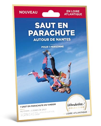 Wonderbox Coffret cadeau Saut en parachute - autour de Nantes - Wonderbox