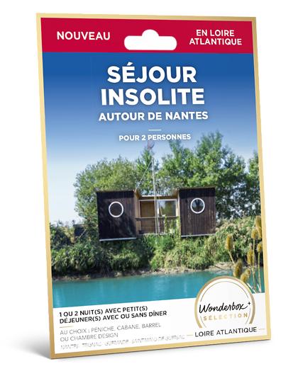 Wonderbox Coffret cadeau Séjour insolite - autour de Nantes - Wonderbox