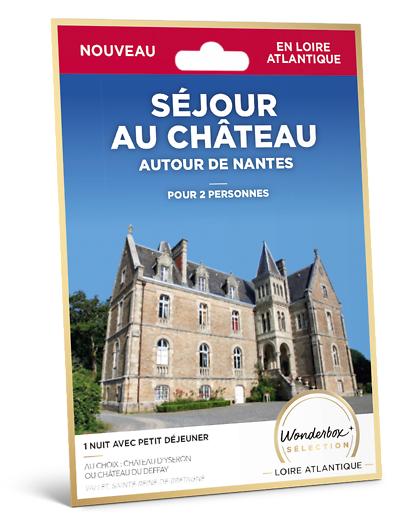 Wonderbox Coffret cadeau Séjour au château - autour de Nantes - Wonderbox