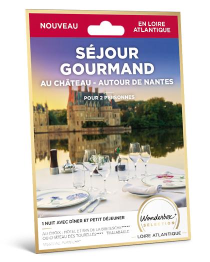 Wonderbox Coffret cadeau Séjour gourmand au château - autour de Nantes - Wonderbox
