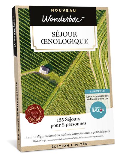 Wonderbox Coffret cadeau Séjour oenologique - Wonderbox