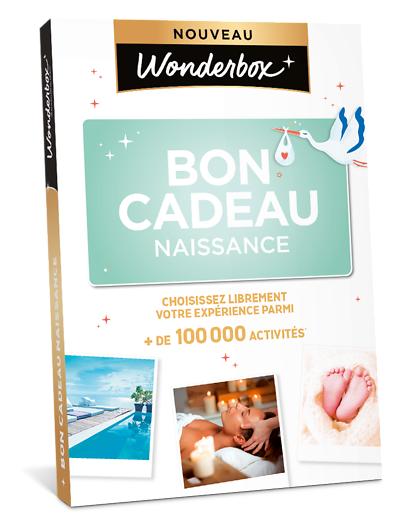Wonderbox Coffret cadeau Bon cadeau Naissance - Wonderbox