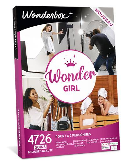 Wonderbox Coffret cadeau Wonder Girl - Wonderbox