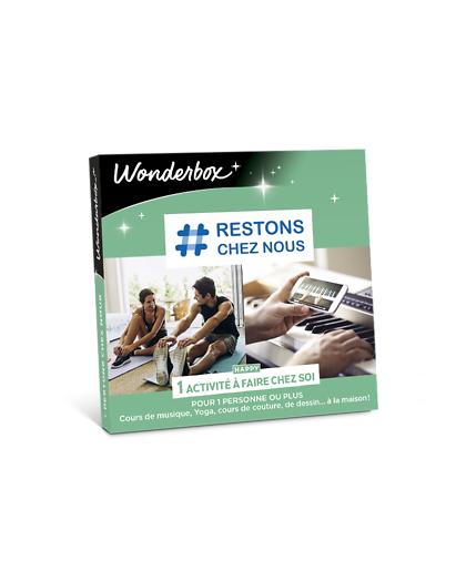 Wonderbox Coffret cadeau # Restons chez nous - Wonderbox