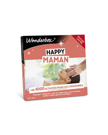 Wonderbox Coffret cadeau Happy Maman - Wonderbox
